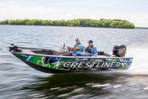 2017 Crestliner 1850 Fish Hawk WT