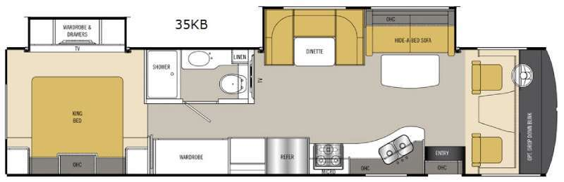 2016 Coachmen Rv Mirada 35KB