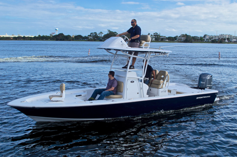 Bay boats for sale in miami florida for Self deploying trolling motor