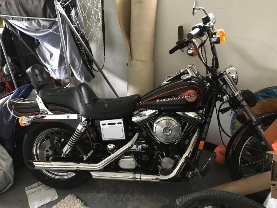 Harley Davidson Fxdwg Dyna Wide Glide Anniversary