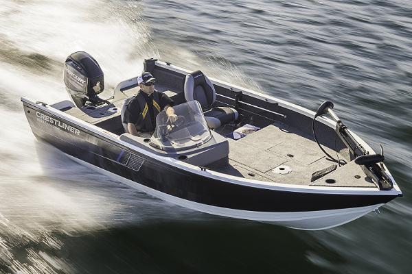 2017 Crestliner 1650 Fish Hawk SC