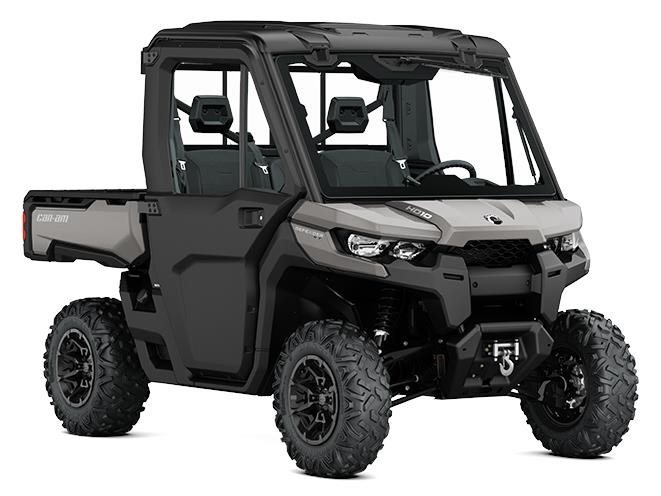 2017 Can-Am Defender XT CAB HD10 Pure Magnesium Metallic