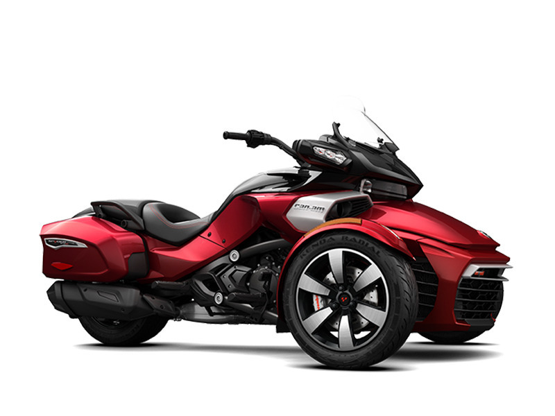 2016 Can-Am Spyder F3-T 6-Speed Semi-Automatic (SE6) Radio