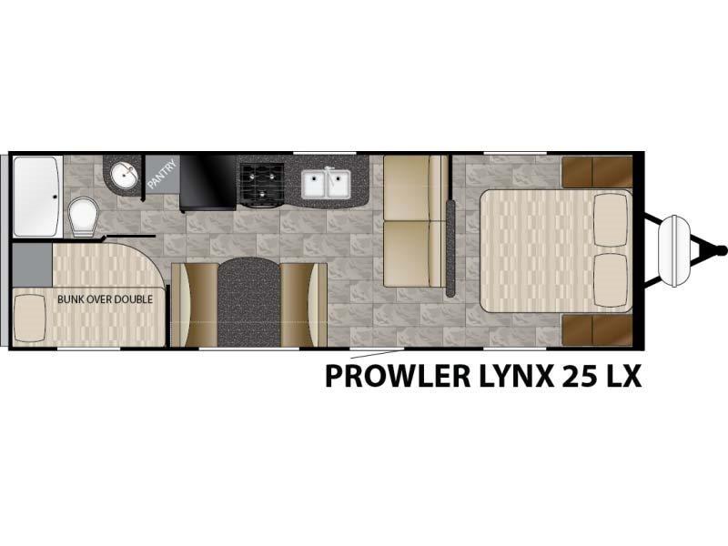 2016 Heartland Prowler by Heartland Lynx 25 LX