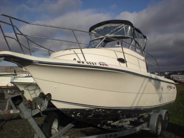 1999 Legacy Boat co 230 Sea Era wa