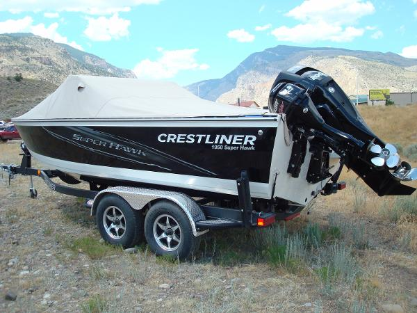 2015 Crestliner 1950 Super Hawk