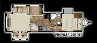 2012 Heartland Prowler 29RET
