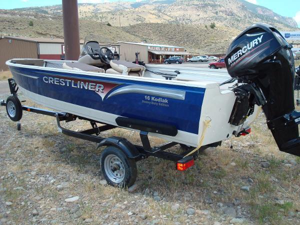 2015 Crestliner 16 Kodiak