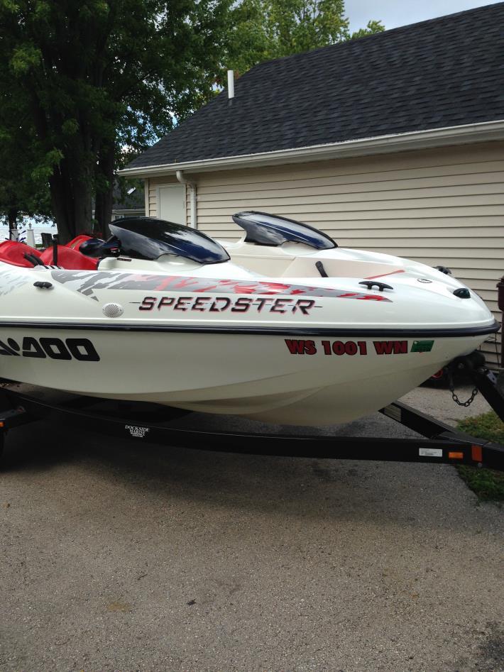 1998 Sea-Doo Sport Boats Speedster 5615