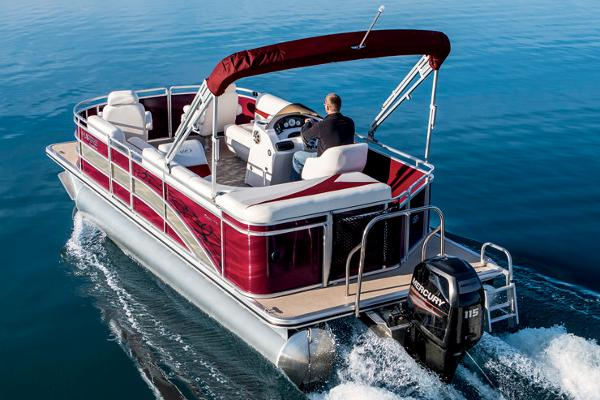 2017 Harris FloteBote Cruiser 220
