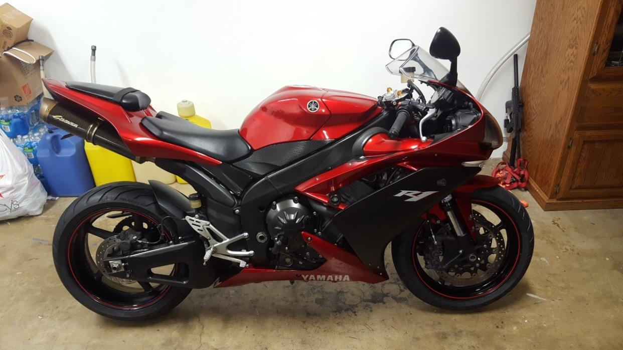 2007 red yamaha r1 motorcycles for sale. Black Bedroom Furniture Sets. Home Design Ideas