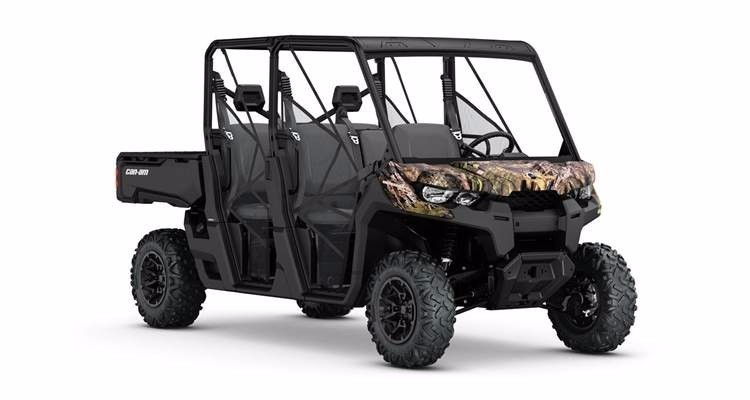 2017 Can-Am DEFENDER MAX DPS HD8