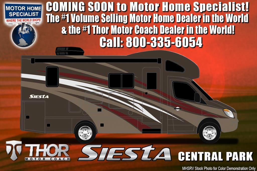 2018 Thor Motor Coach Four Winds Siesta Sprinter 24SR RV for Sale @ MHSRV W/S