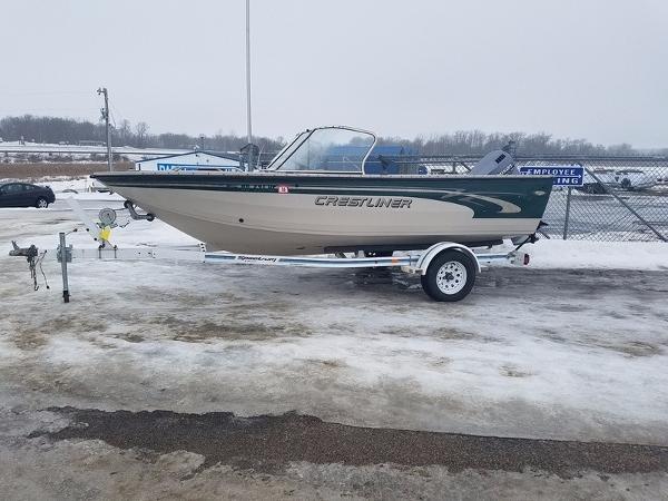 2000 Crestliner Sportfish 1850