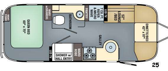 2017 Airstream Rv Flying Cloud 25FB