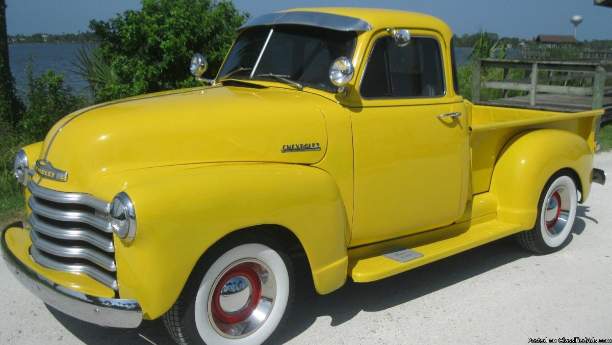 1952 Chevrolet Other Pickups Cars for sale