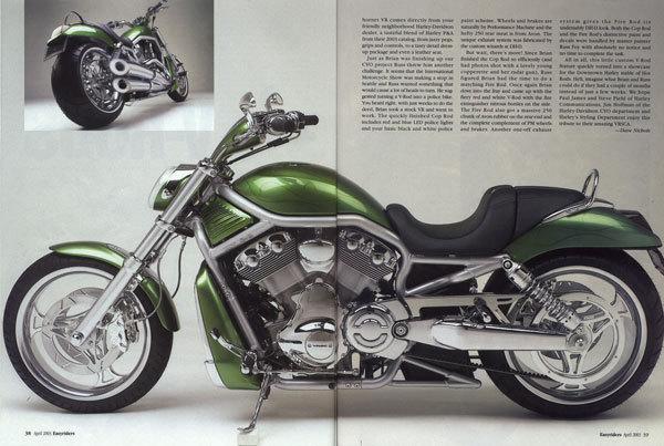 2002 Harley-Davidson V-ROD DESTROYER