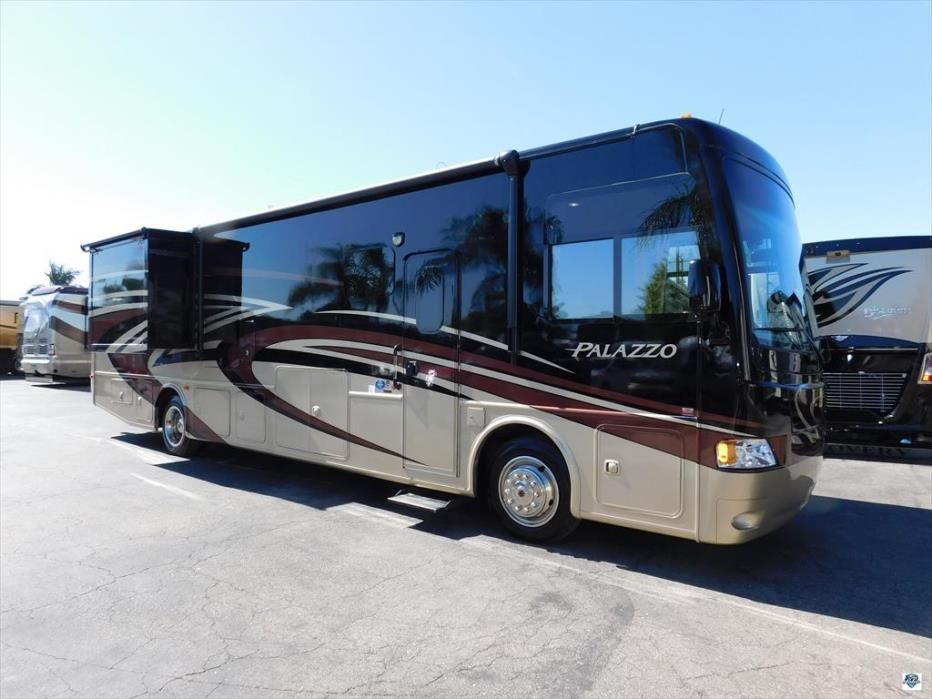 Thor motor coach palazzo 36 1 rvs for sale for 2014 thor motor coach palazzo 36 1