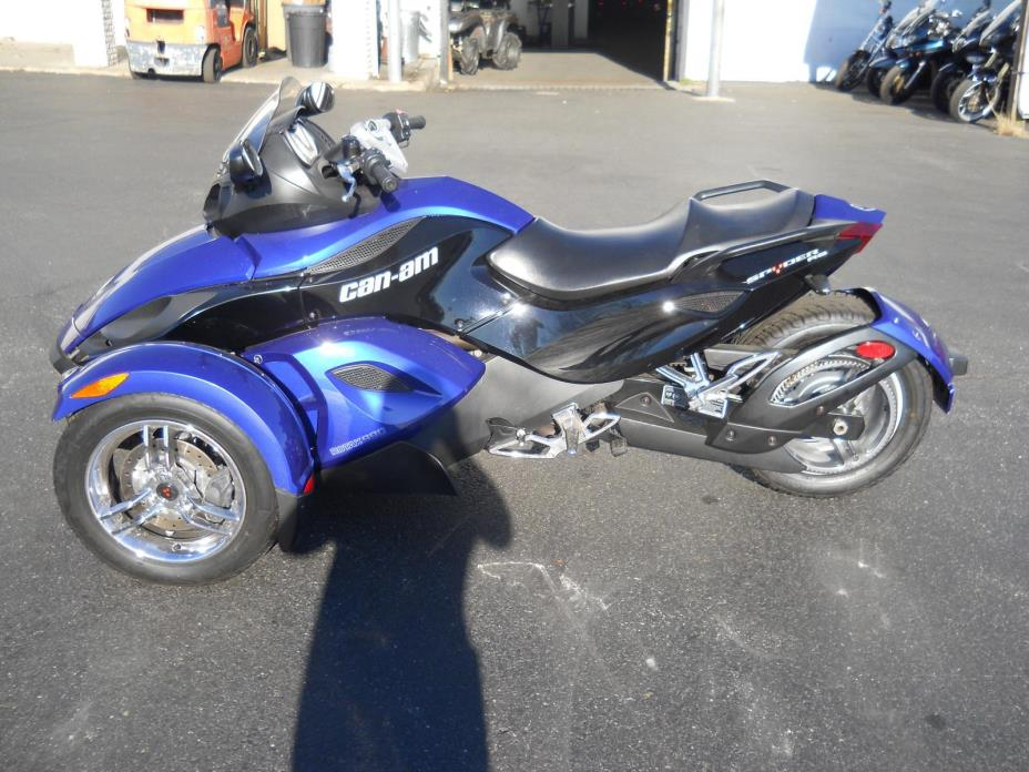 2010 Can-Am SPYDER RS SM5 EUR