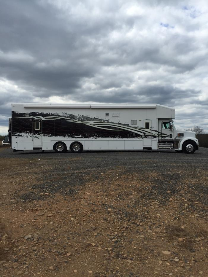 Show hauler motorhome rvs for sale for Rv with car garage for sale