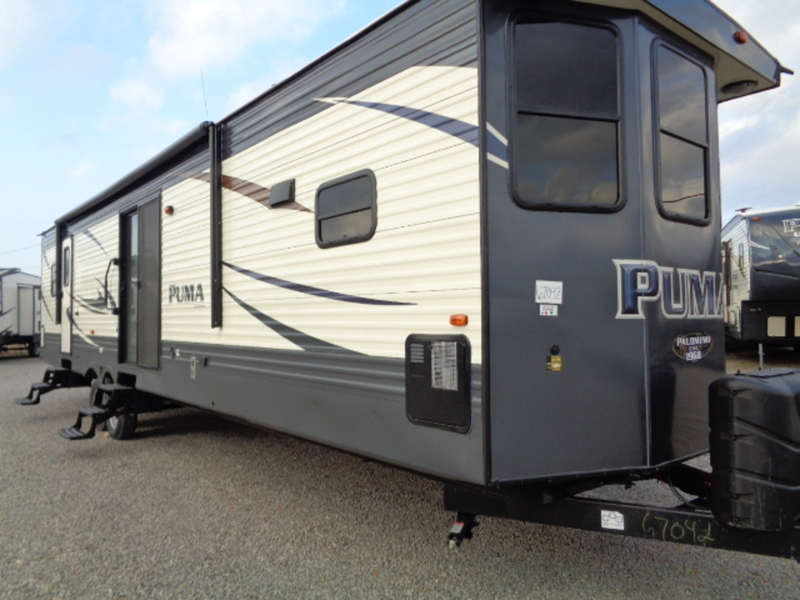 2017 Palomino Puma Destination Trailers 39PFK(GP)