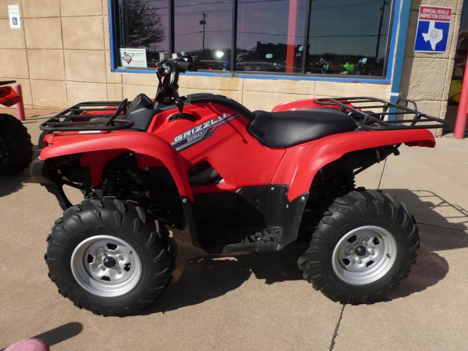Yamaha grizzly 550 motorcycles for sale in texas for 2014 yamaha grizzly 550 for sale