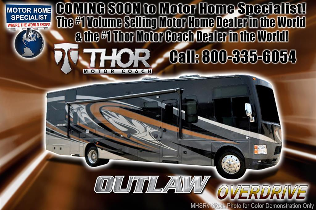 2018 Thor Motor Coach Outlaw 37RB Toy Hauler RV for Sale @ MHSRV Patio & 3 A/