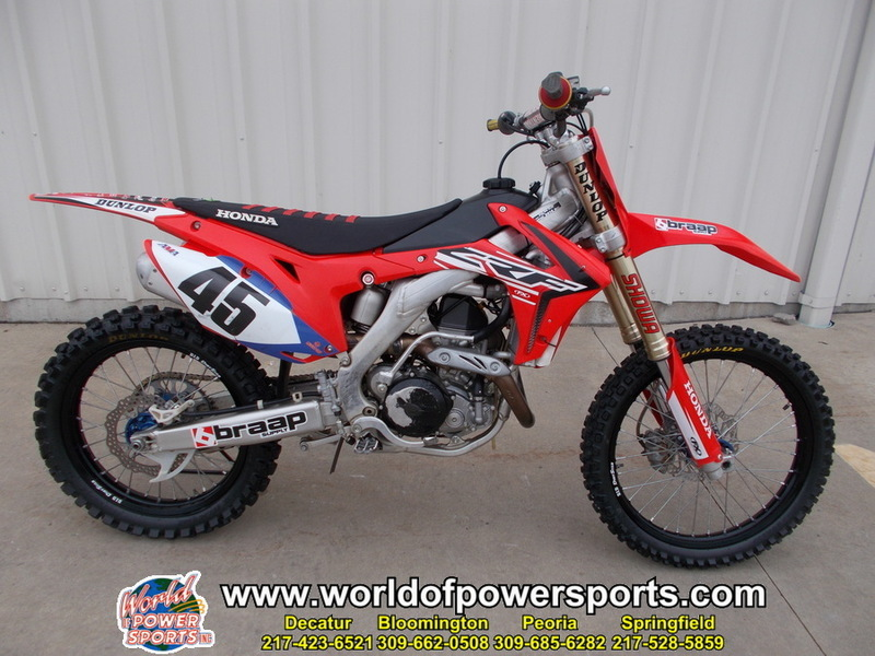Honda Of Decatur >> 2014 Honda Crf450r 450r Motorcycles for sale
