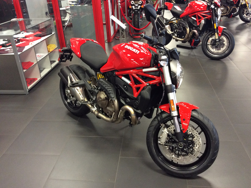 ducati monster 821 red motorcycles for sale in new jersey. Black Bedroom Furniture Sets. Home Design Ideas