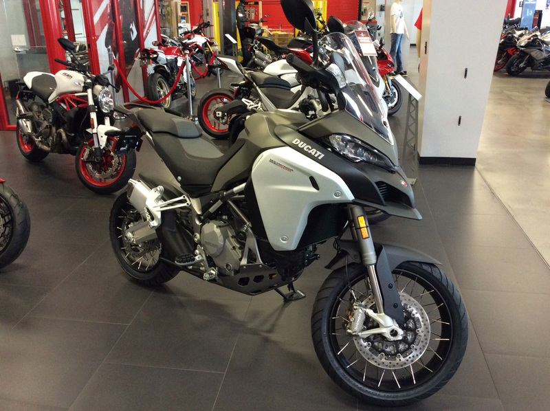 2016 Ducati Multistrada 1200 Enduro Phantom Grey