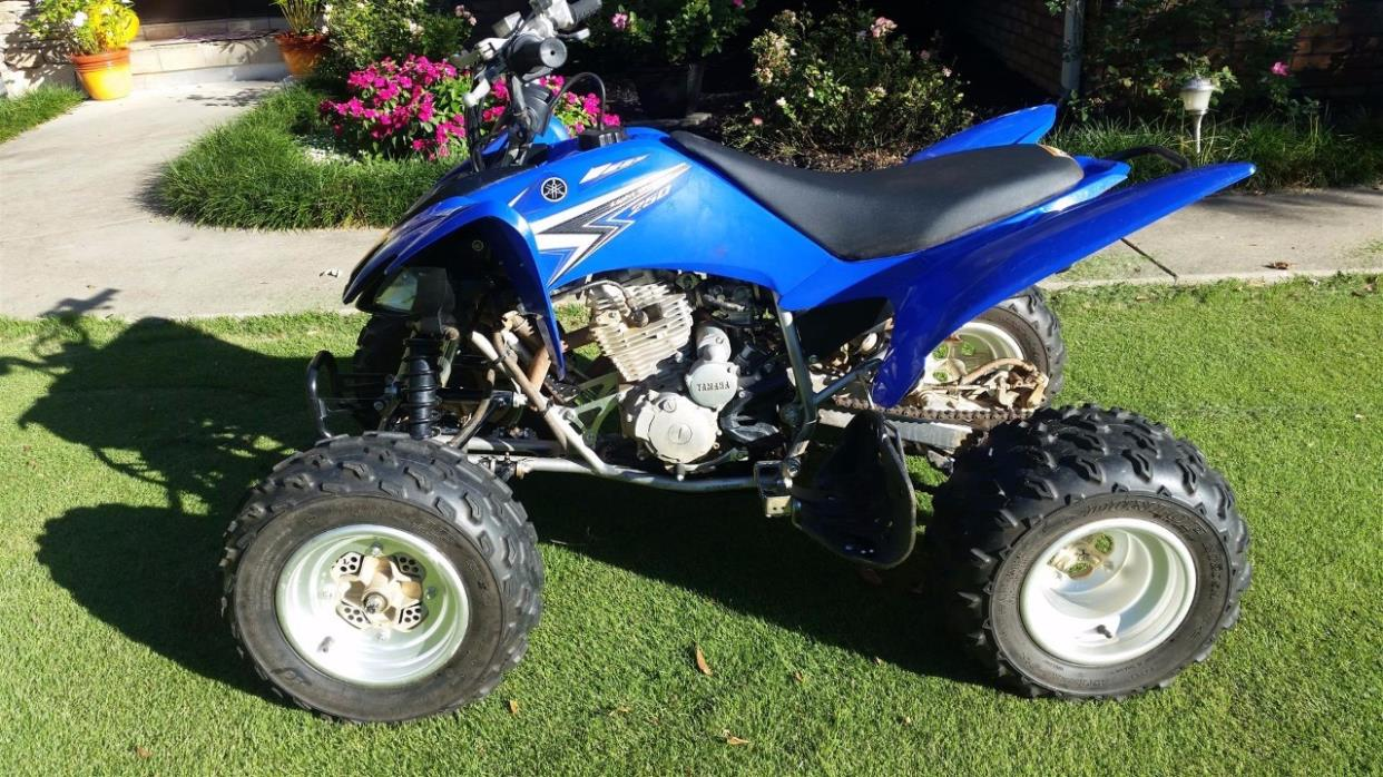 yamaha raptor 250 motorcycles for sale