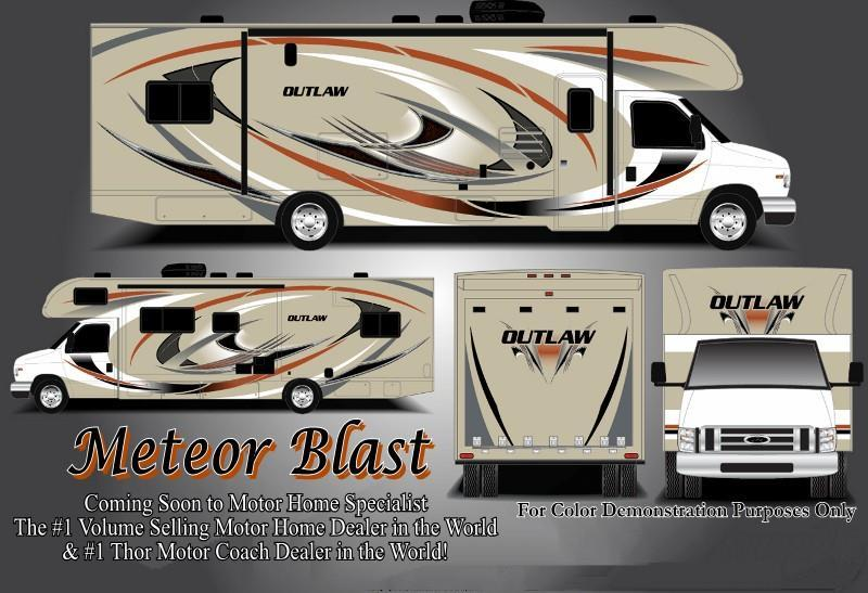 2018 Thor Motor Coach Outlaw 29H Class C Toy Hauler RV for Sale at MHSRV.com