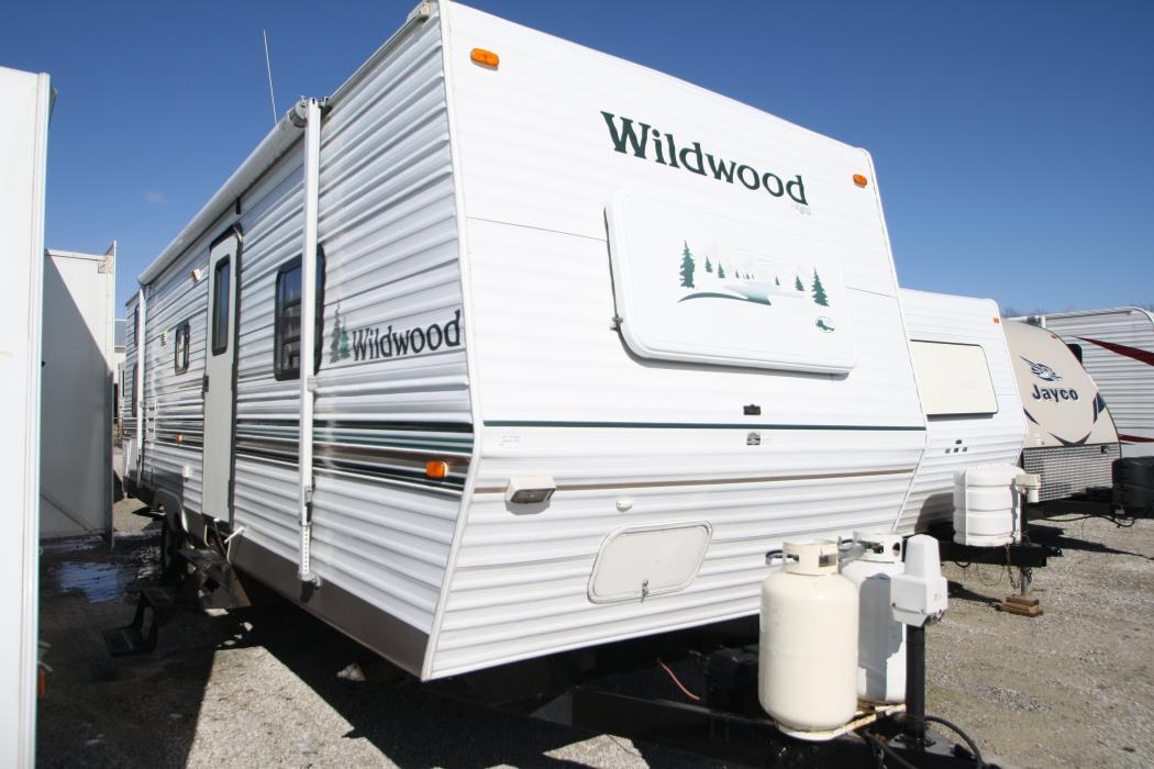 forest river wildwood 28bhss rvs for sale. Black Bedroom Furniture Sets. Home Design Ideas