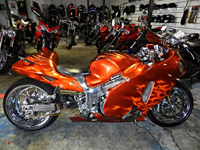 suzuki hayabusa custom motorcycles for sale. Black Bedroom Furniture Sets. Home Design Ideas