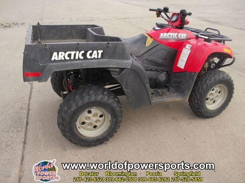 2007 Arctic Cat 650 4X4 650 TRV