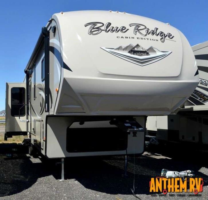 2017 Forest River Blue Ridge Cabin Edition 378LF