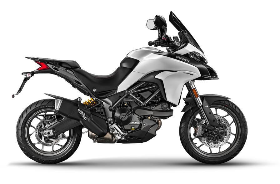 2017 Ducati Multistrada 950 - Star White Silk