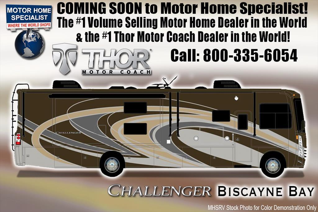 2018 Thor Motor Coach Challenger 37KT RV for Sale at MHSRV.com W/King Bed