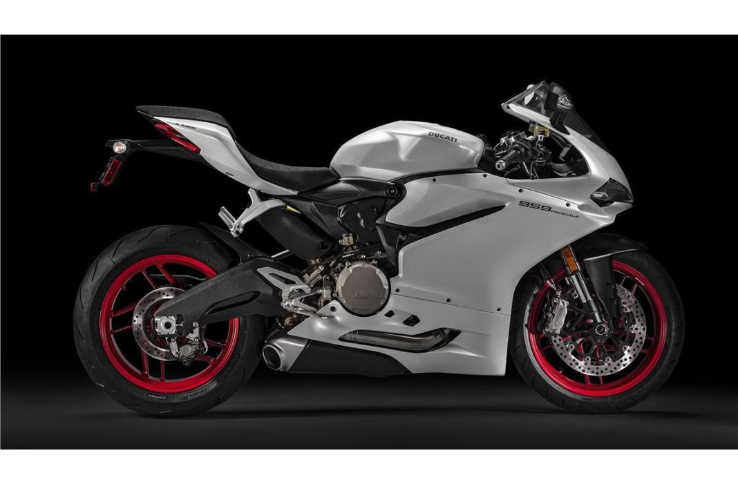 2016 Ducati 959 Panigale - Arctic White Silk