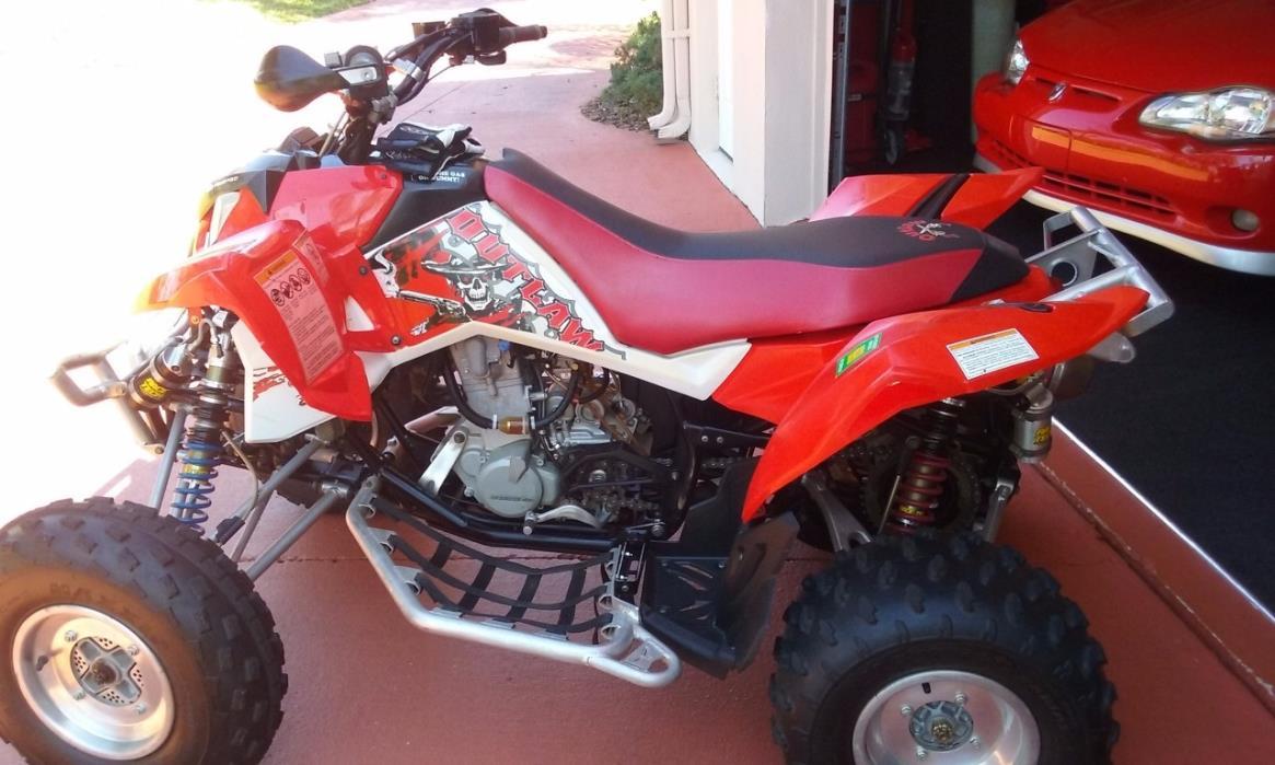 2008 Polaris OUTLAW 525 S