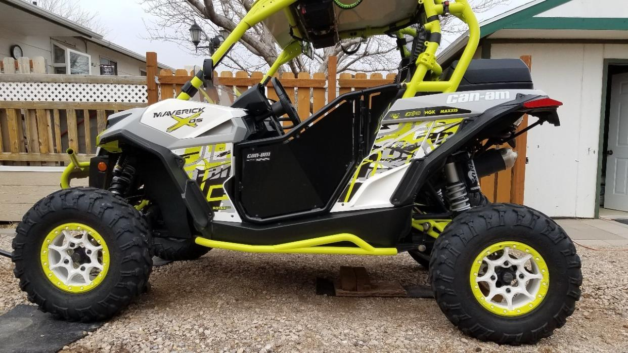 2015 Can-Am MAVERICK X DS DPS 1000R TURBO
