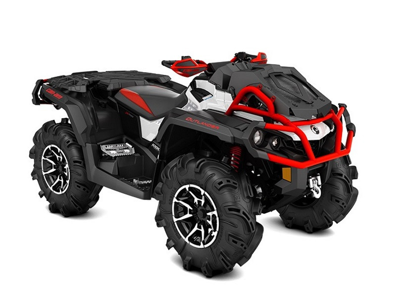 2017 Can-Am Outlander X mr 1000R Black, White & Can-Am Red