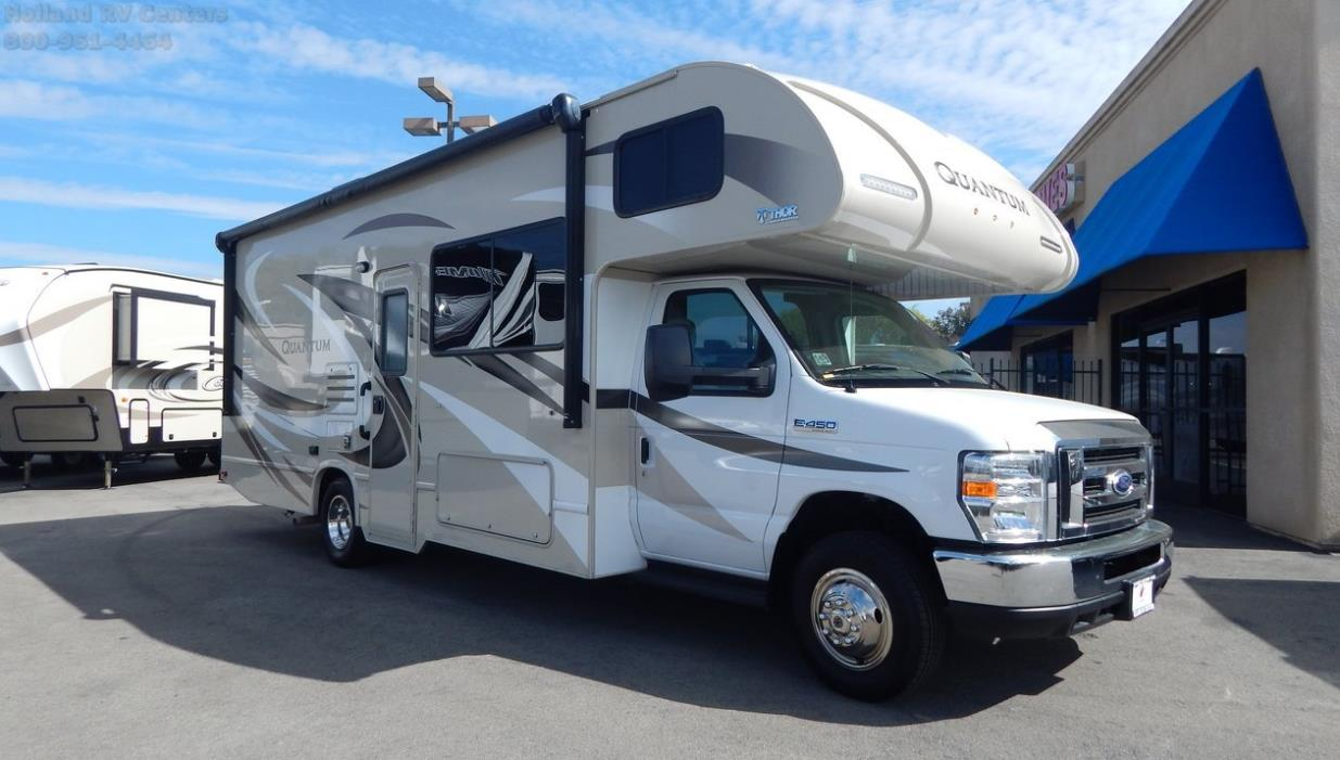 Thor motor coach quantum rvs for sale in palm desert for Rv motor coaches for sale