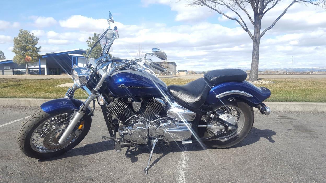 2008 yamaha v star 1100 custom motorcycles for sale