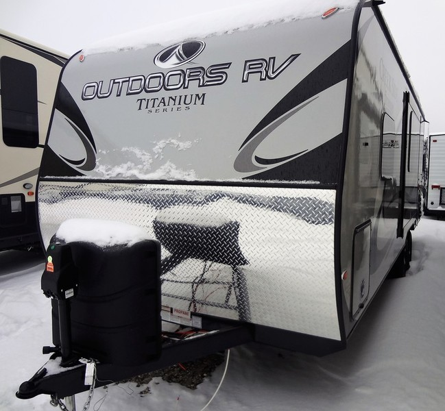 2017 Outdoors Rv Titanium Series Titanium Creek Side 23RBS