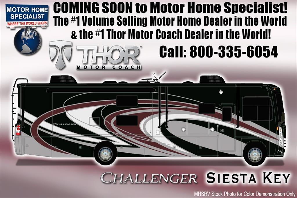 2018 Thor Motor Coach Challenger 37KT Coach for Sale at MHSRV.com W/King Bed