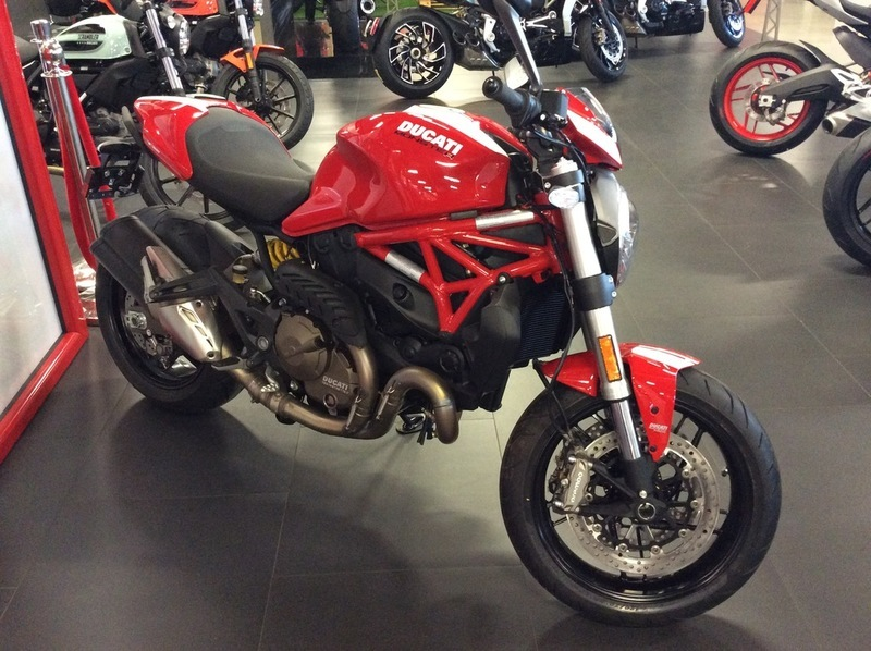 2017 Ducati Monster 821 Stripe Red with Stripe Livery