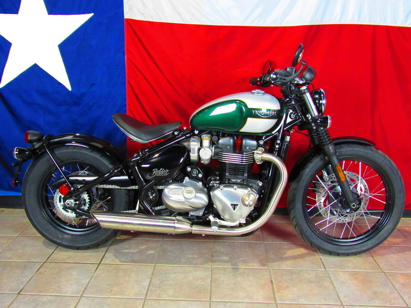 Triumph Bonneville Bobber Competition Green Motorcycles For Sale In