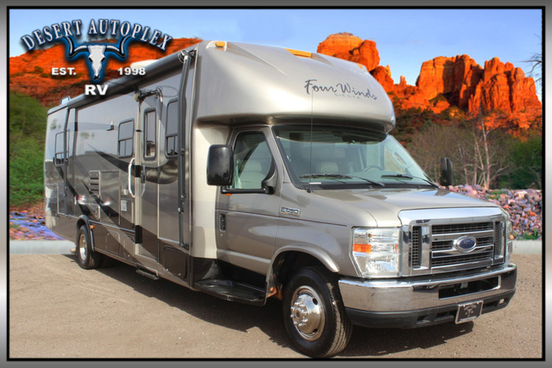 2009 Four Winds Siesta 31BH Single Slide Class C RV