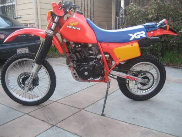 1984 Honda XR 500R